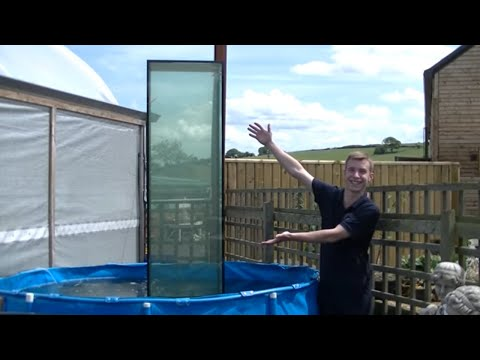 Huge Inverted Aquarium / Upside Down Fish Tank (part 2)