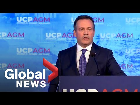 Alberta Premier Jason Kenney Makes Speech At United Conservative Party Meeting | FULL