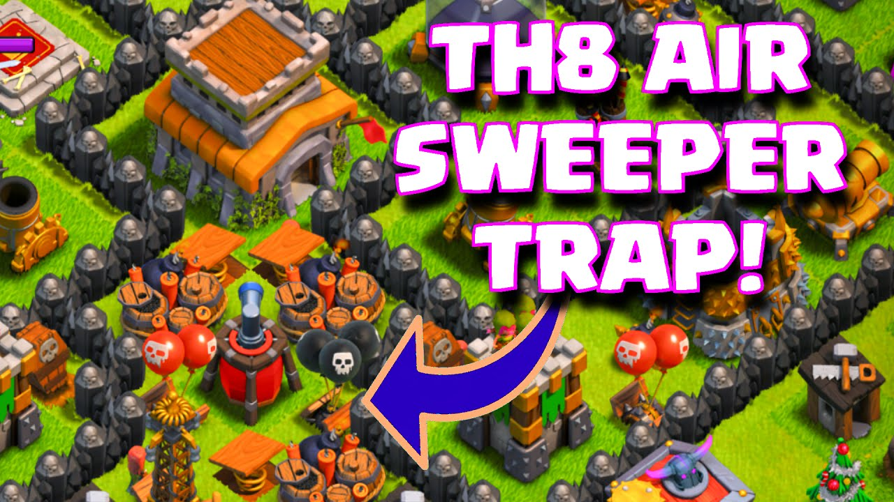 Th8 Home Base Layout With Air Sweeper