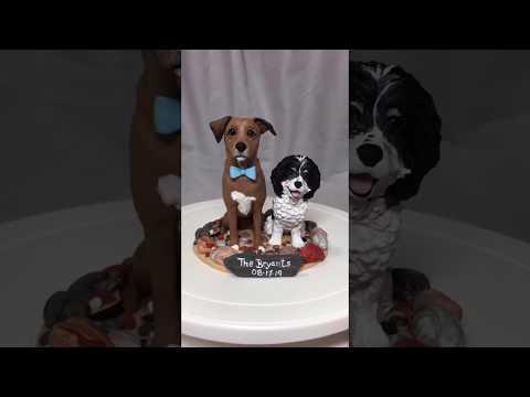 custom-dog-wedding-cake-topper