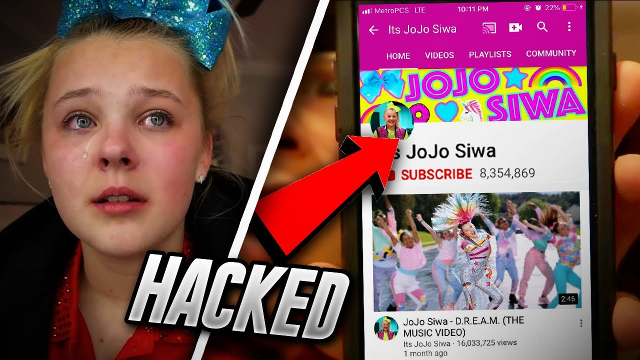 HACKING THE REAL JOJO SIWA!! (SHE CRIES ON CAMERA)