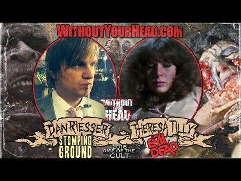 "Theresa Tilly of ""The Evil Dead"" & director Dan Riesser of ""Stomping Ground"" interview"
