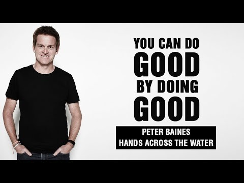 How your business can absolutely do good by doing good with Peter Baines | #372