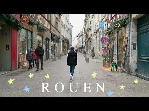 Rouen, France 거리가 예쁘고 한적한 도시, 루앙