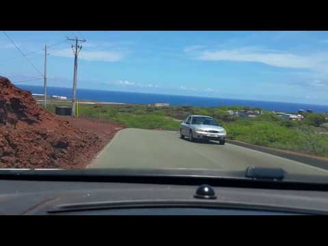 Ascension Island. Journey to George Town from Travellers Hill