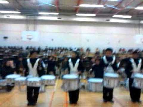 Dobie Middle School Drumline Austin, Texas