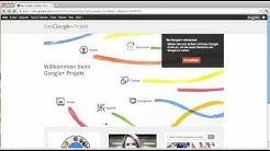 Bei Google Plus anmelden / registrieren