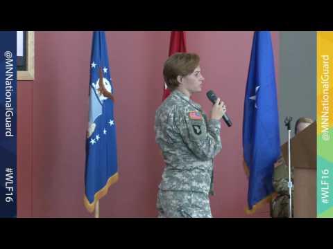 2016 Women's Leadership Forum | Maj.  Lisa Jaster
