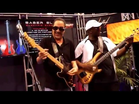 2016.01.22 Get the funk out my face George Johnson NAMM2016