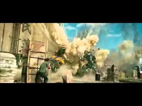 Transformers La era de la Extinción Optimus Prime vs Lockdown Final Transformers 4 (latino)