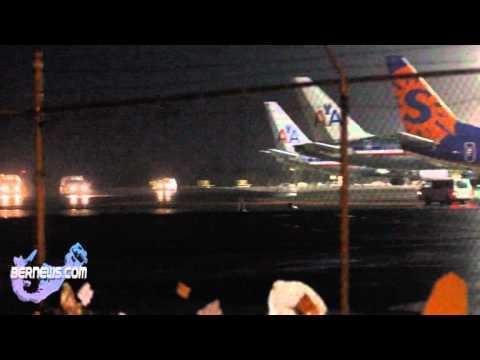 Emergency Vehicles Escort Aircraft Dec 23 10