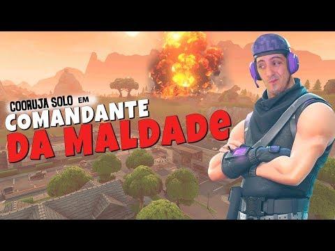 COMANDANTE DA MALDADE PRONTO PRO COMBATE | Fortnite Brasil Royale