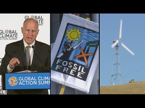 """Climate Action Summit, Tracking and Testing Pot, """"The Browns of California"""""""