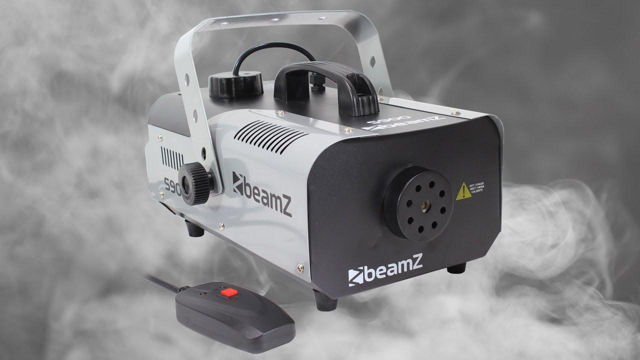 Beamz S900 Smoke Machine 900W Stage Effect Party DJ ...