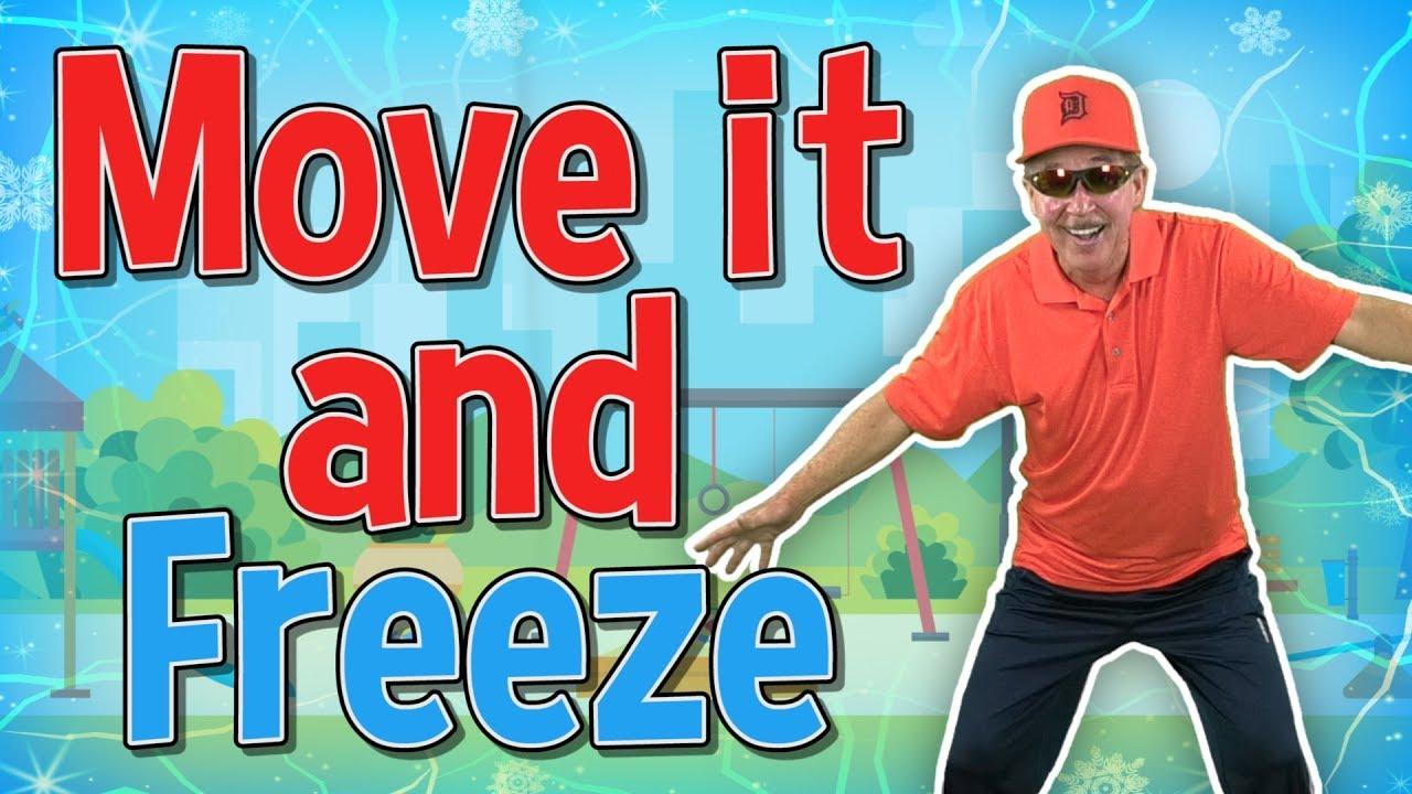 Download Move it and Freeze | Brain Break | Jack Hartmann