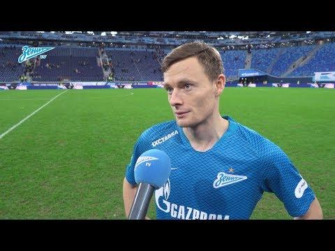 Евгений Чернов на «Зенит-ТВ»: «Было очень интересно играть с командой уровня Лиги чемпионов»