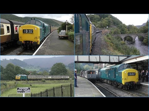 Llangollen Railway Diesel Gala 23/09/17