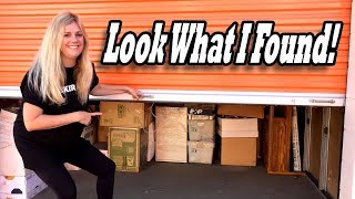 DECEASED OWNER LOCKER that Janna bought at the abandoned storage auction has UNEXPECTED FINDS!