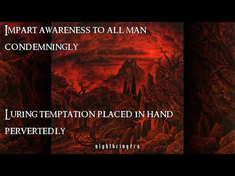 The Black Dahlia Murder - Of God and Serpent of Spectre and Snake (lyric video)