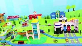 Tayo Bus Toys: Fire Truck, Police Cars, Excavator, Train & Toy Vehicles Surprise for Kids