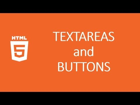 HTML Tutorial 16 || Text-areas and Buttons thumbnail
