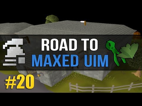 OSRS Ultimate Ironman (Road to Max) #20 - Grinding Herblore for Herb Sack