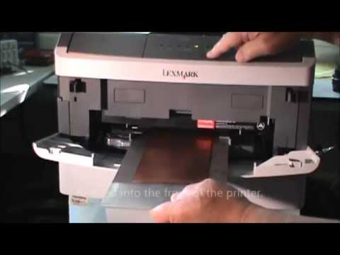 Modification of the Lexmark E260 for Direct Laser Printing of