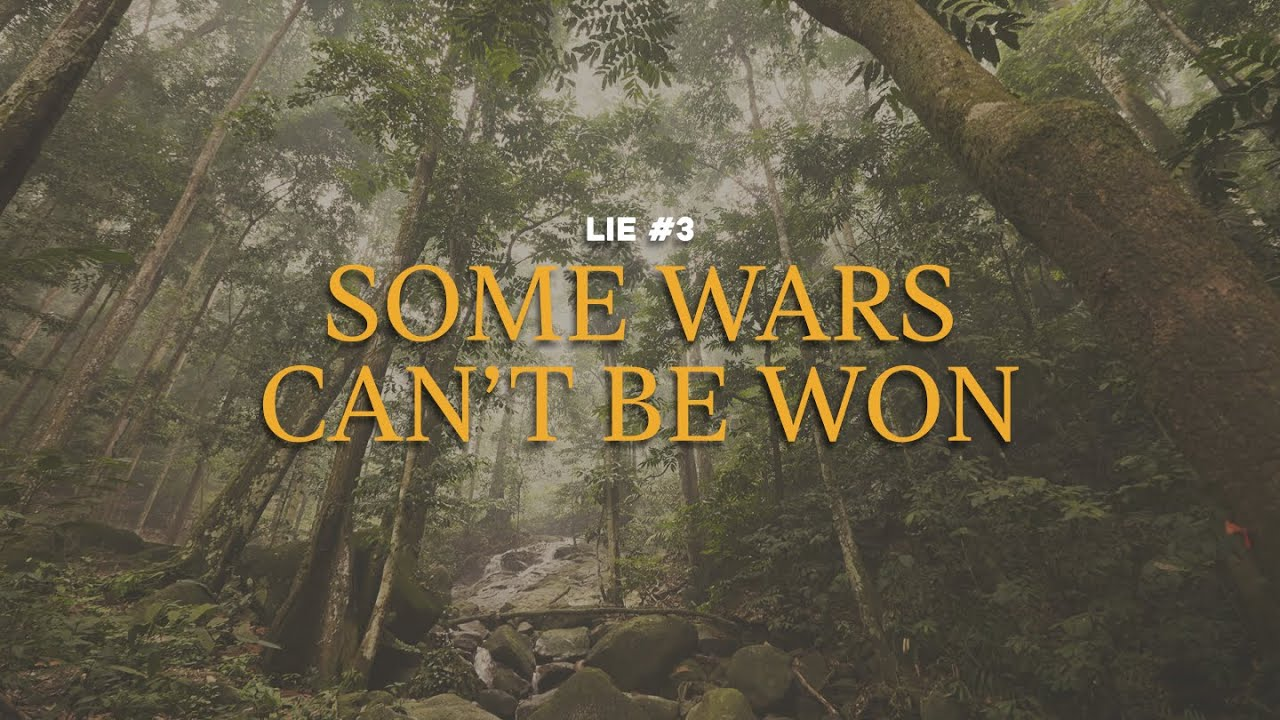 180 LIVE   Lie #3: Some Wars Can't Be Won