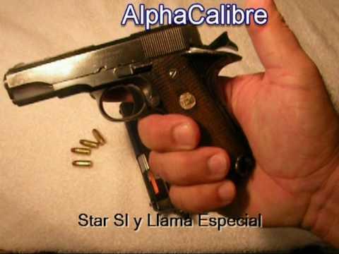 Star SI & Llama Especial - 7.65mm / .32 acp - Comparación de dos españolas con tradición.