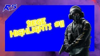 Bandit 1v5 clutch l Siege Highlights #11