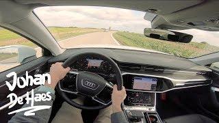 Audi A6 Avant 40 TDI 204 hp POV test drive