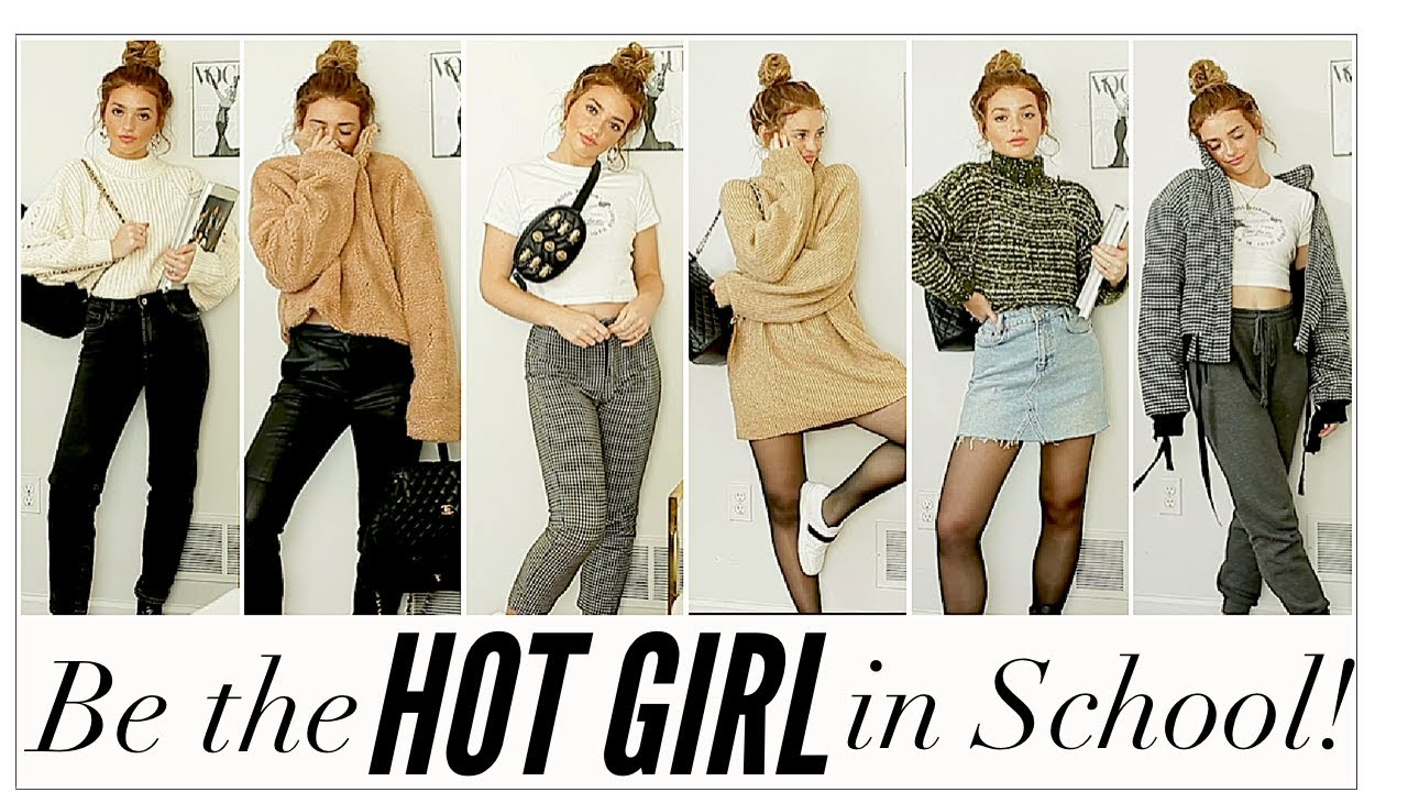 LAZY but HOT COLLEGE OUTFITS! Back to School! 7