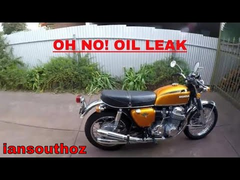 HONDA CB750 Four OIL LEAK