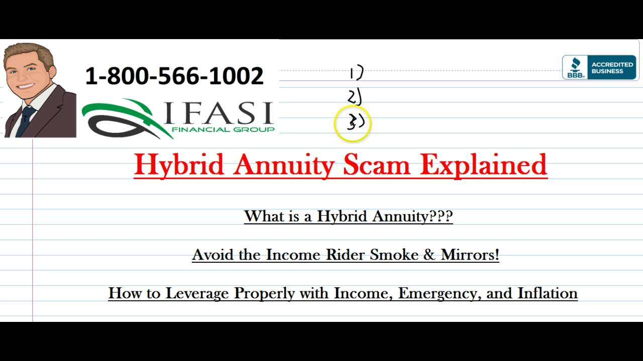 Hybrid Annuity Scam Scams Exposed