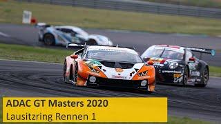 ADAC GT Masters | Lausitzring 2020 | Rennen 1 | Deutsch | Re-Live