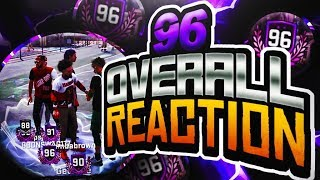 96 overall reaction! i cant believe i unlocked this! nba 2k18 road to 99! top rep! annoyingtv