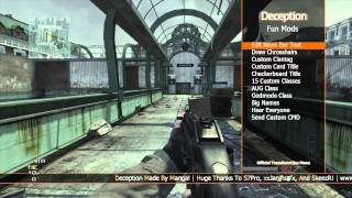MW3 Mod Menu (Deception) Jtag/RGH + Download