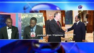 THE 6PM NEWS (Tibor Nagy met Paul BIYA) MONDAY MARCH 18th 2019 - EQUINOXE TV