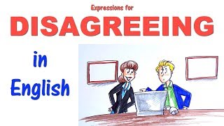 English Conversation Skills: How to Disagree - Learn useful expressions!