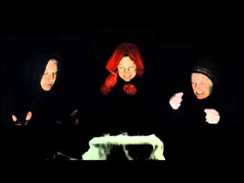 Poetry Video: The Three Witches from Shakespeare's MACBETH, performed by Renee LaTulippe