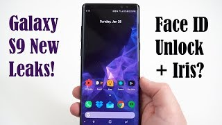 Galaxy S9 Face ID Competitor IntelligentScan Leaked+Official Wallpaper!