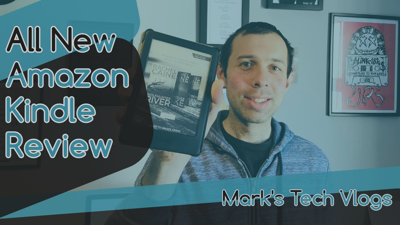 All-new Amazon Kindle | Now with a built-in front light - Review
