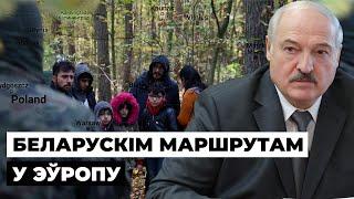 Чаму мігранты ідуць «беларускім маршрутам» / Почему мигранты идут белорусским маршрутом