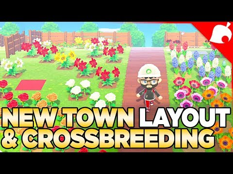 1.1.4, New Town Layout & Crossbreeding EVERY Flower In Animal Crossing New Horizons