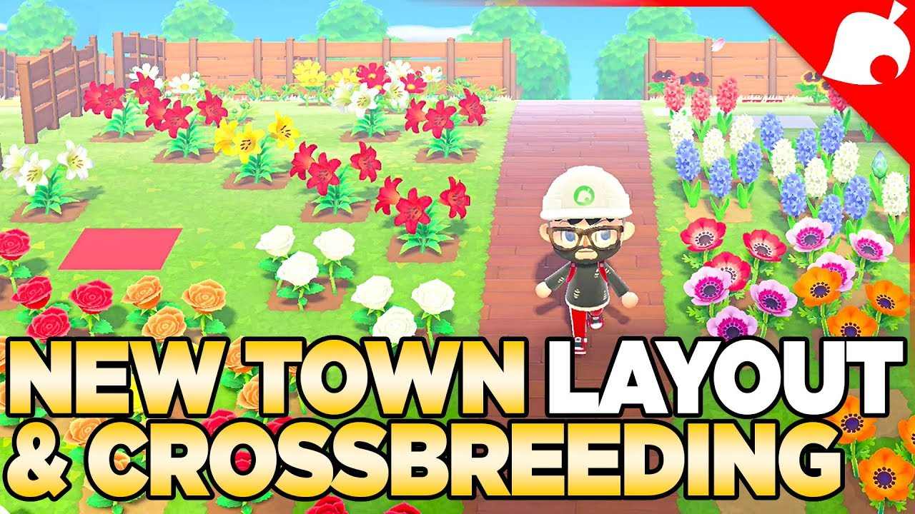 1 1 4 New Town Layout Crossbreeding Every Flower In Animal