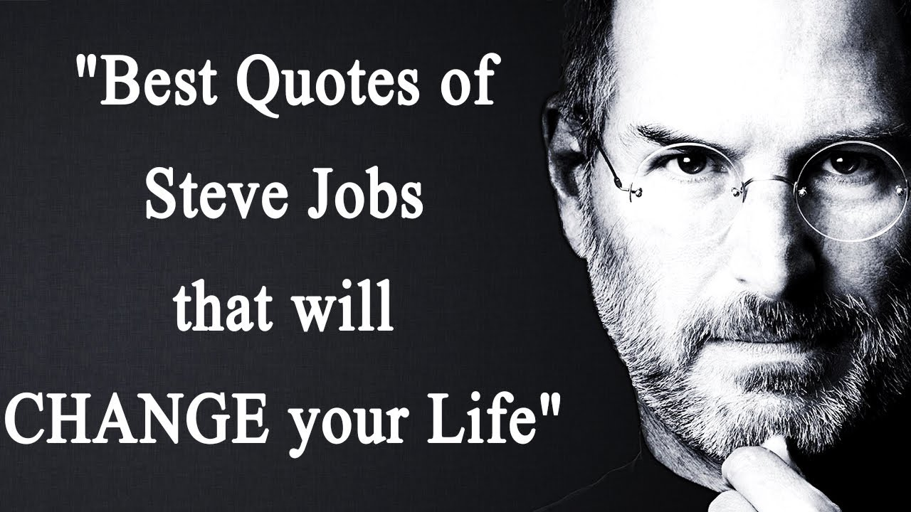 Steve Jobs Quotes On Life Steve Jobs Quotes That Will Change Your Life   Boldsky  Youtube