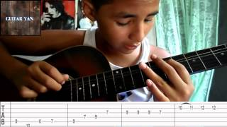 como tocar el solo de te quiero de hombres g en guitarra