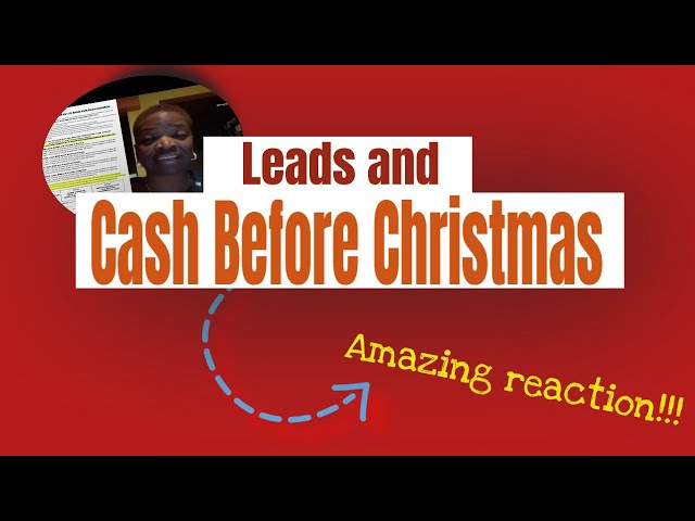 Leads and Cash Before Christmas - Impact Mailing Club