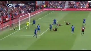 afc bournemouth vs leicester city 1 1 wonderful bicycle 29 08 2015