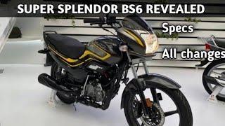 Hero Super Splendor BS-6 ??2020 | Launch| Prices, Mileage, Specifications, Colours | PR Moto Vlogs
